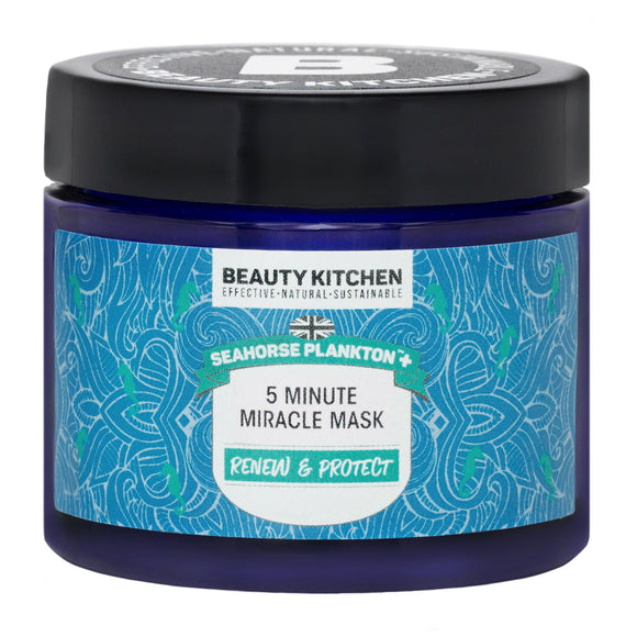 Beauty Kitchen Seahorse Plankton+ 5 Minute Miracle Mask 60ml