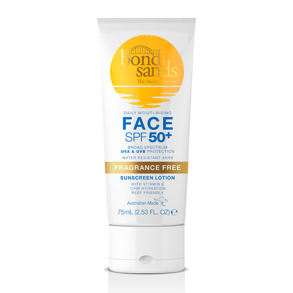 Bondi Sands Sunscreen Lotion SPF50+ Face 75ml