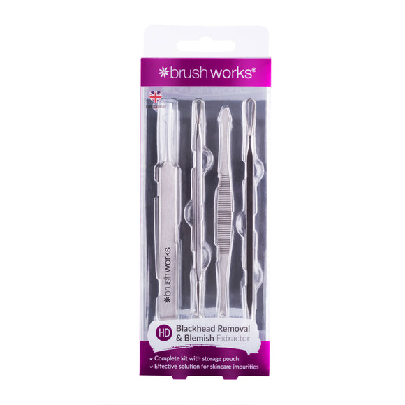 Brushworks Blackhead & Blemish Remover Set