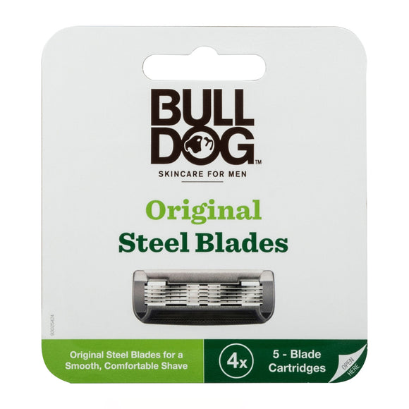 Bulldog Skincare For Men Bamboo Razor Blades 4 pack