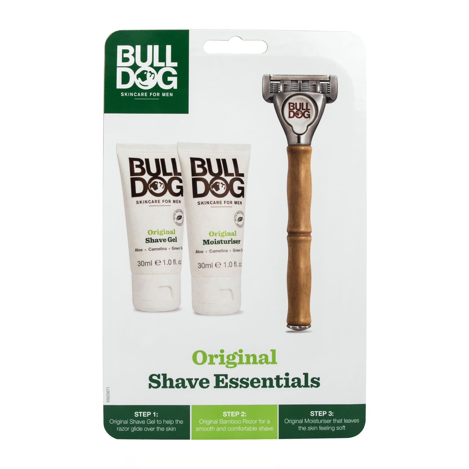 Bulldog Skincare For Men Shave Essentials Kit