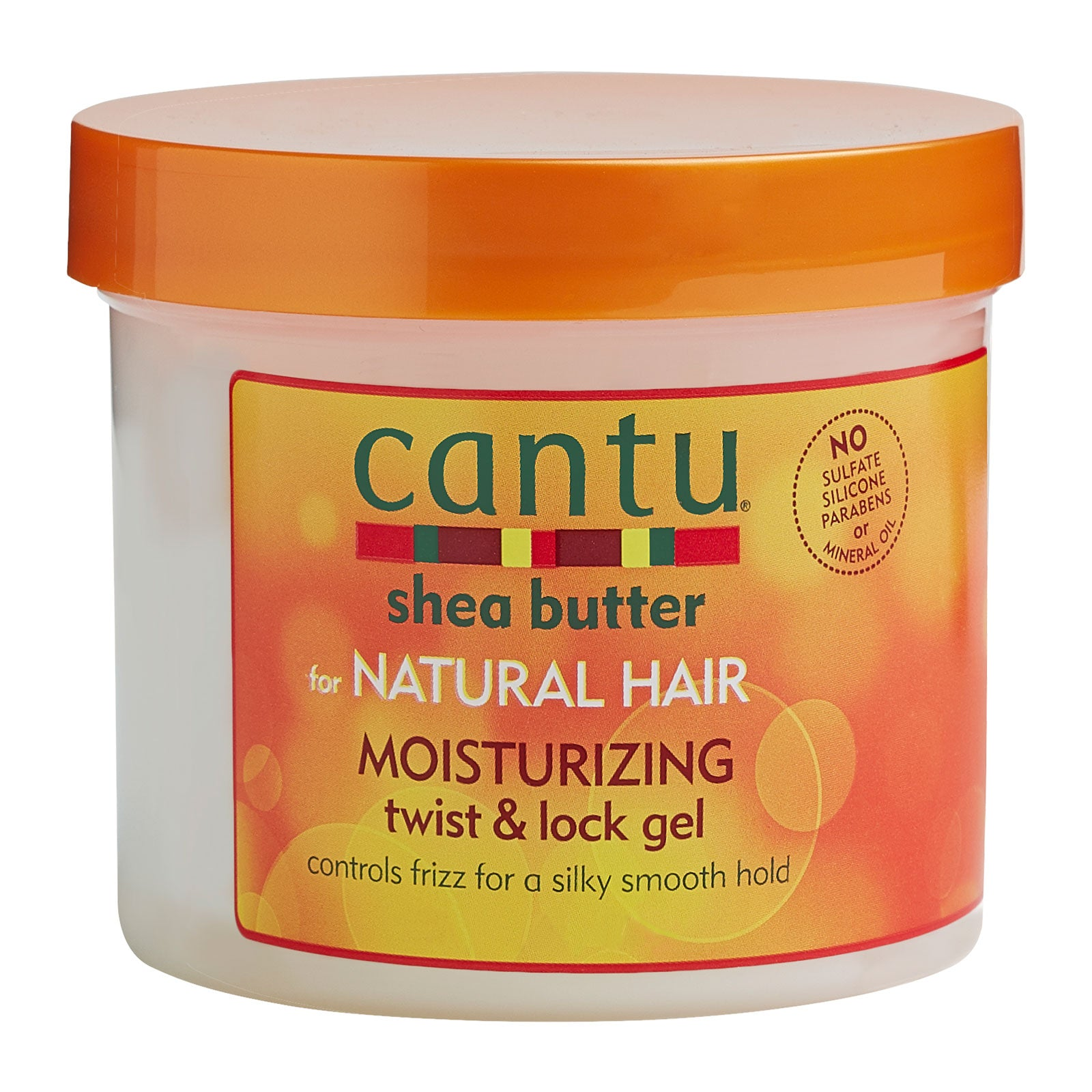 Cantu Shea Butter for Natural Hair Moisturizing Twist & Lock Gel 453g