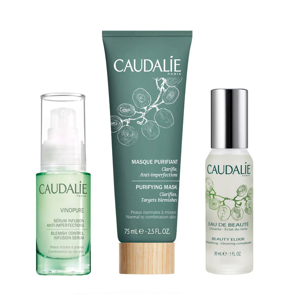 Caudalie Beauty Set For Oily Skin Bundle