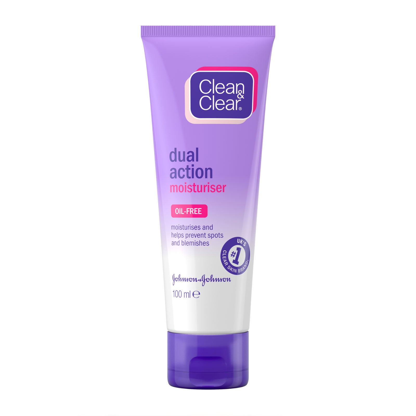 Clean & Clear Dual Action Moisturiser 100ml