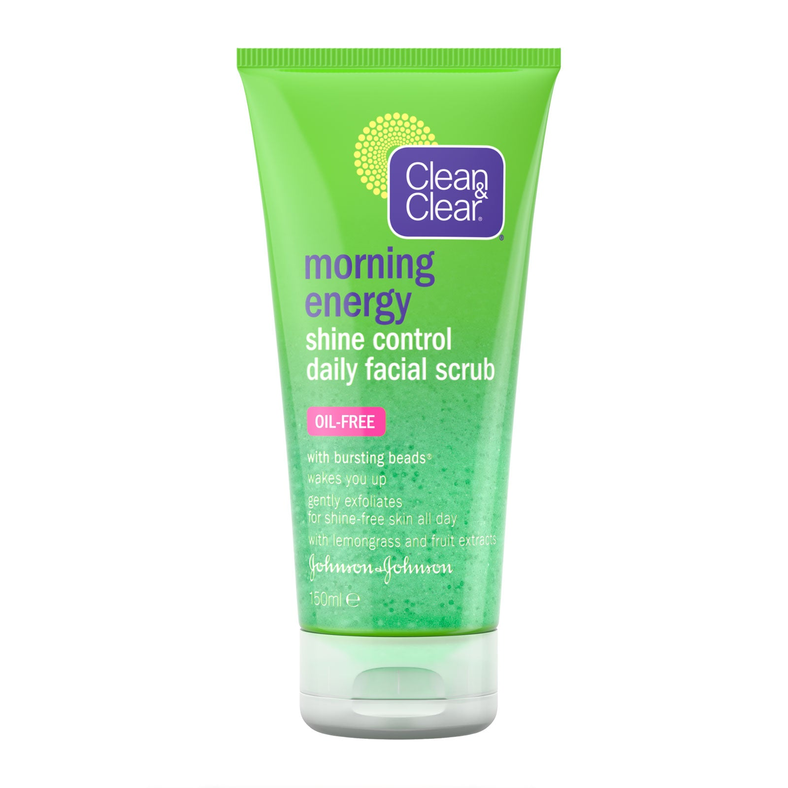 Clean & Clear Morning Energy Shine Control Scrub 150ml