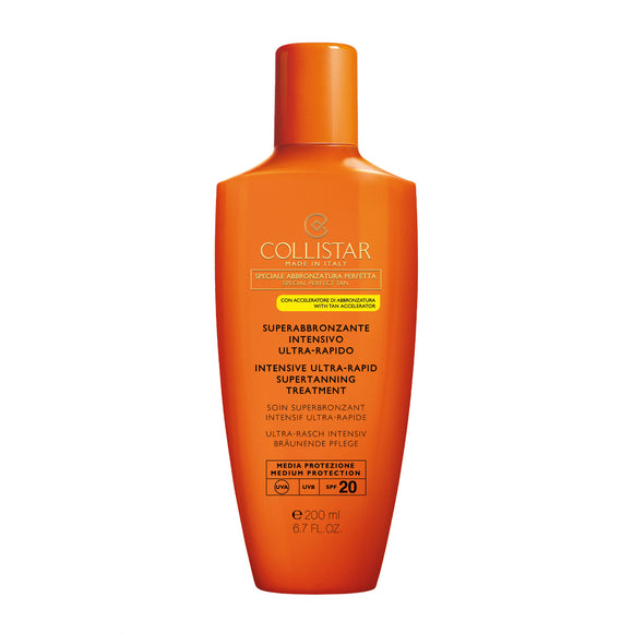 COLLISTAR Intensive Ultra-Rapid Supertanning Treatment SPF20 200ml