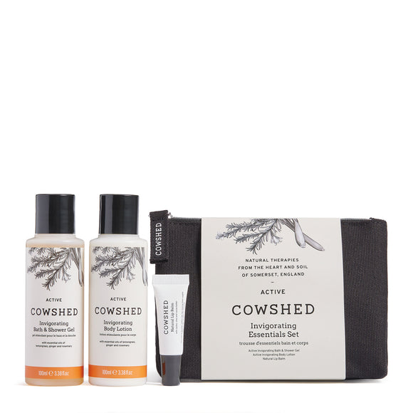 Cowshed Active Invigorating Essentials Set