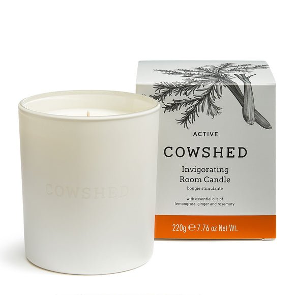Cowshed Active Invigorating Room Candle 220g