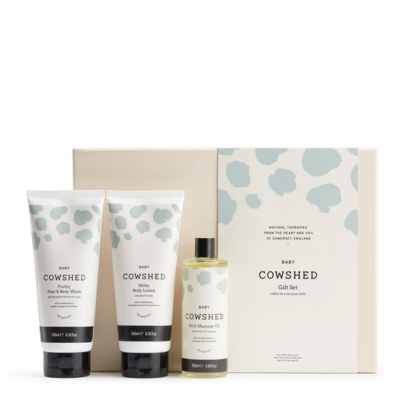 Cowshed Baby Set