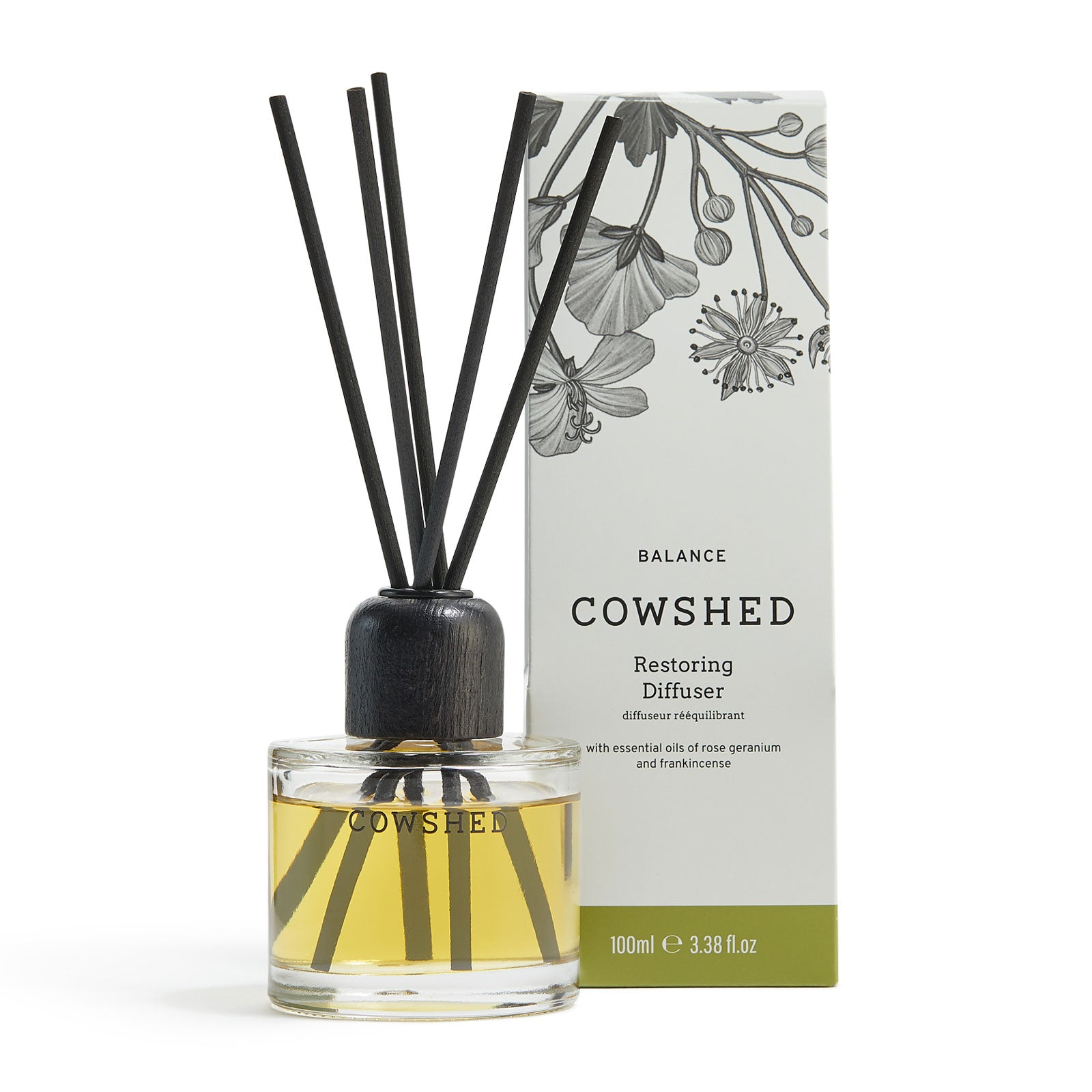 Cowshed Balance Restoring Diffuser 100ml