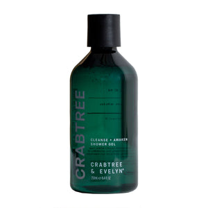 CRABTREE & EVELYN Crabtree Cleanse & Awaken Shower Gel 250ml