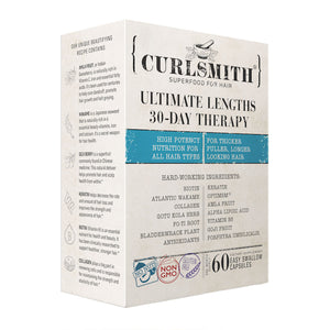 Curlsmith Scalp Ultimate Lengths 30 Day Therapy x 60