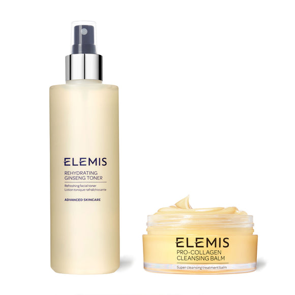 ELEMIS Cleanser & Toner Rehydrating Duo - Feelunique Exclusive