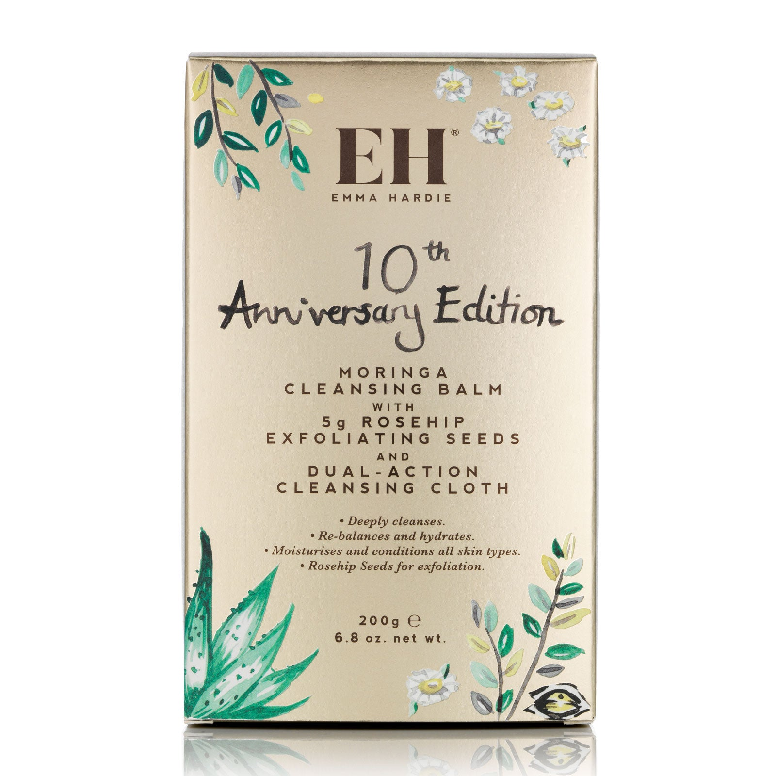 Emma Hardie Moringa Cleansing Balm 200g - 10th Anniversary Edition