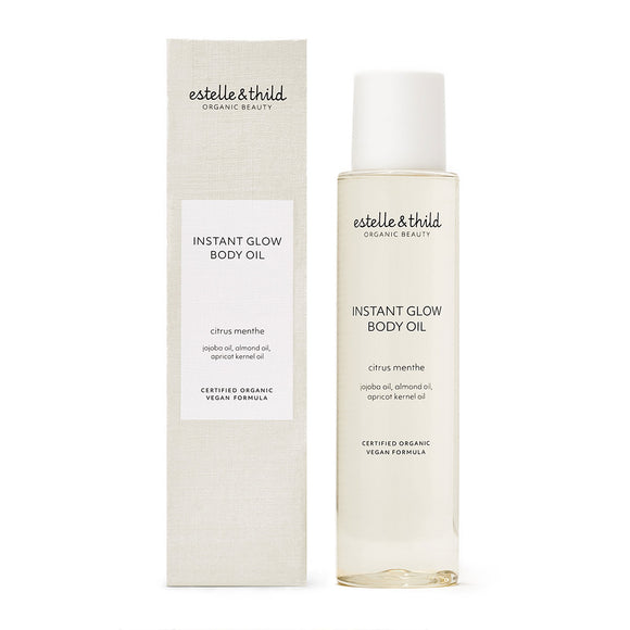 Estelle & Thild Citrus Menthe Instant Glow Body Oil 100ml