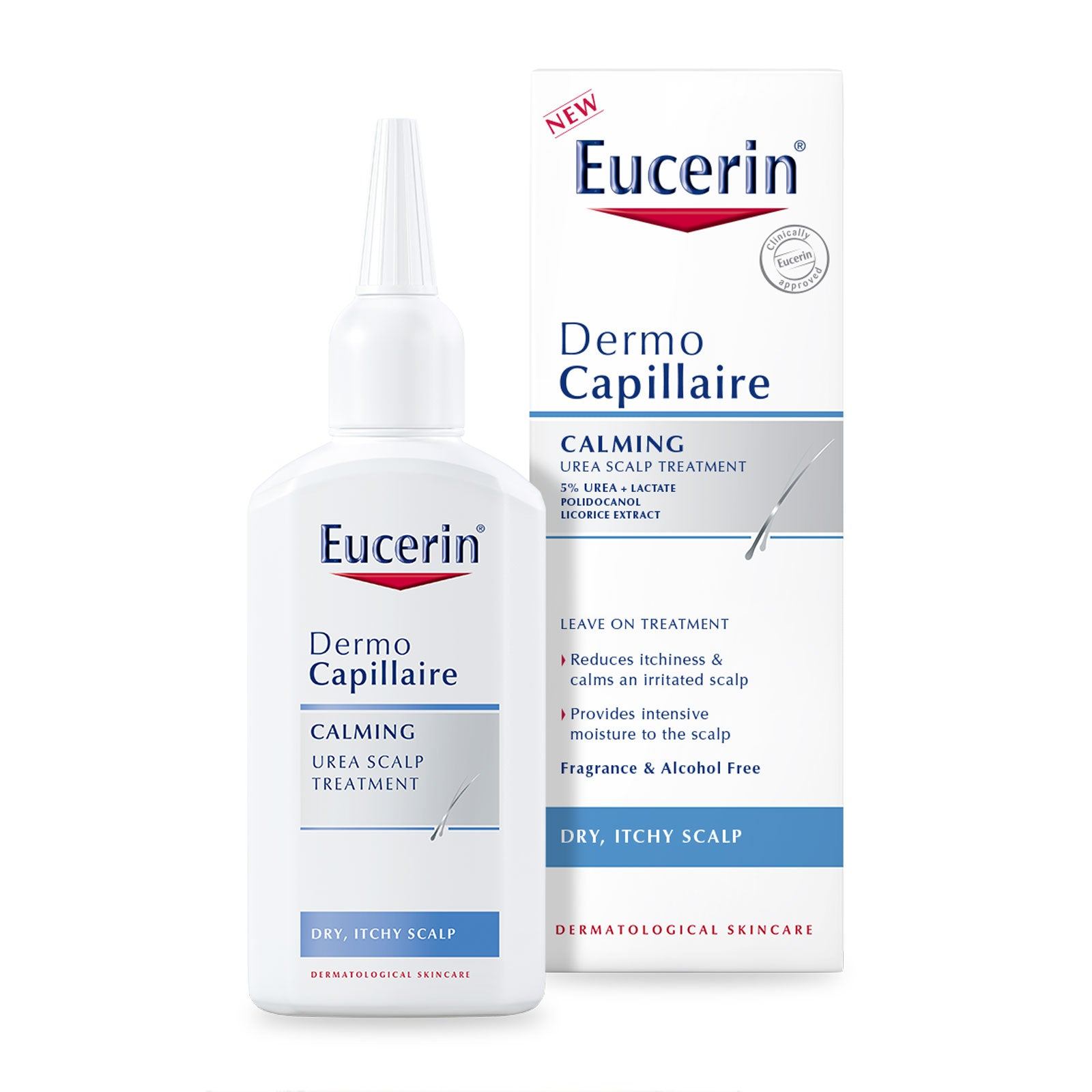 Eucerin DermoCapillaire Calming Urea Scalp Treatment 100ml