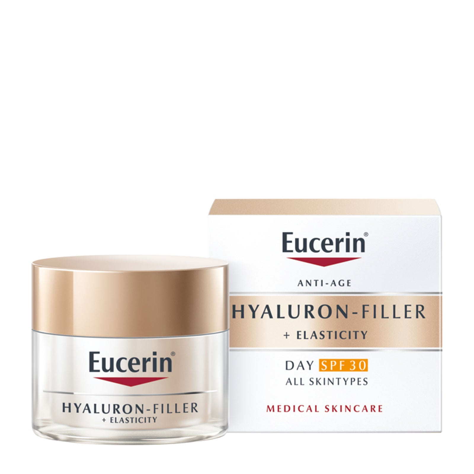 Eucerin Hyaluron-Filler + Elasticity Anti-Aging Day Cream SPF30 50ml