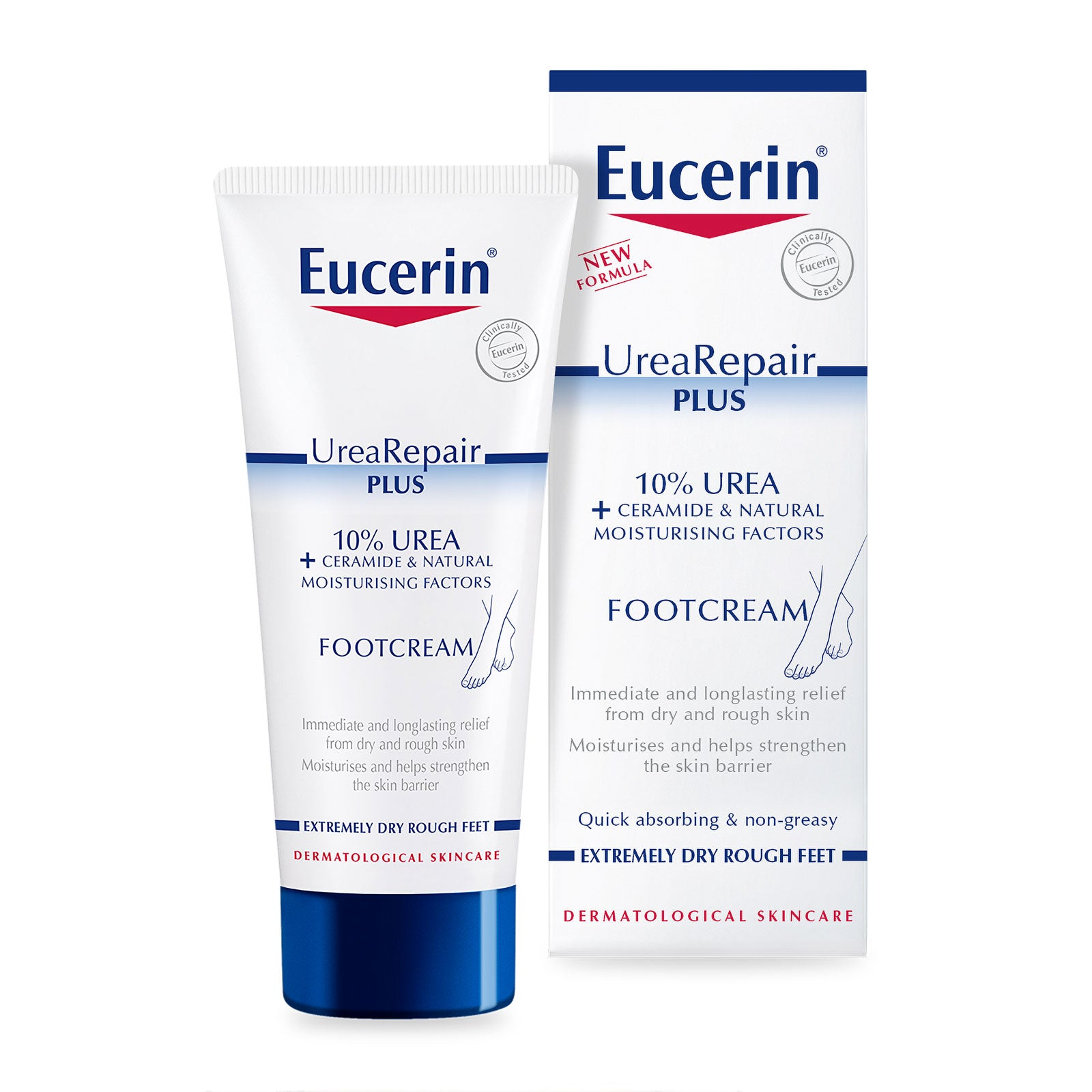 Eucerin Intensive Foot Cream 10% Urea with Lactate 100ml