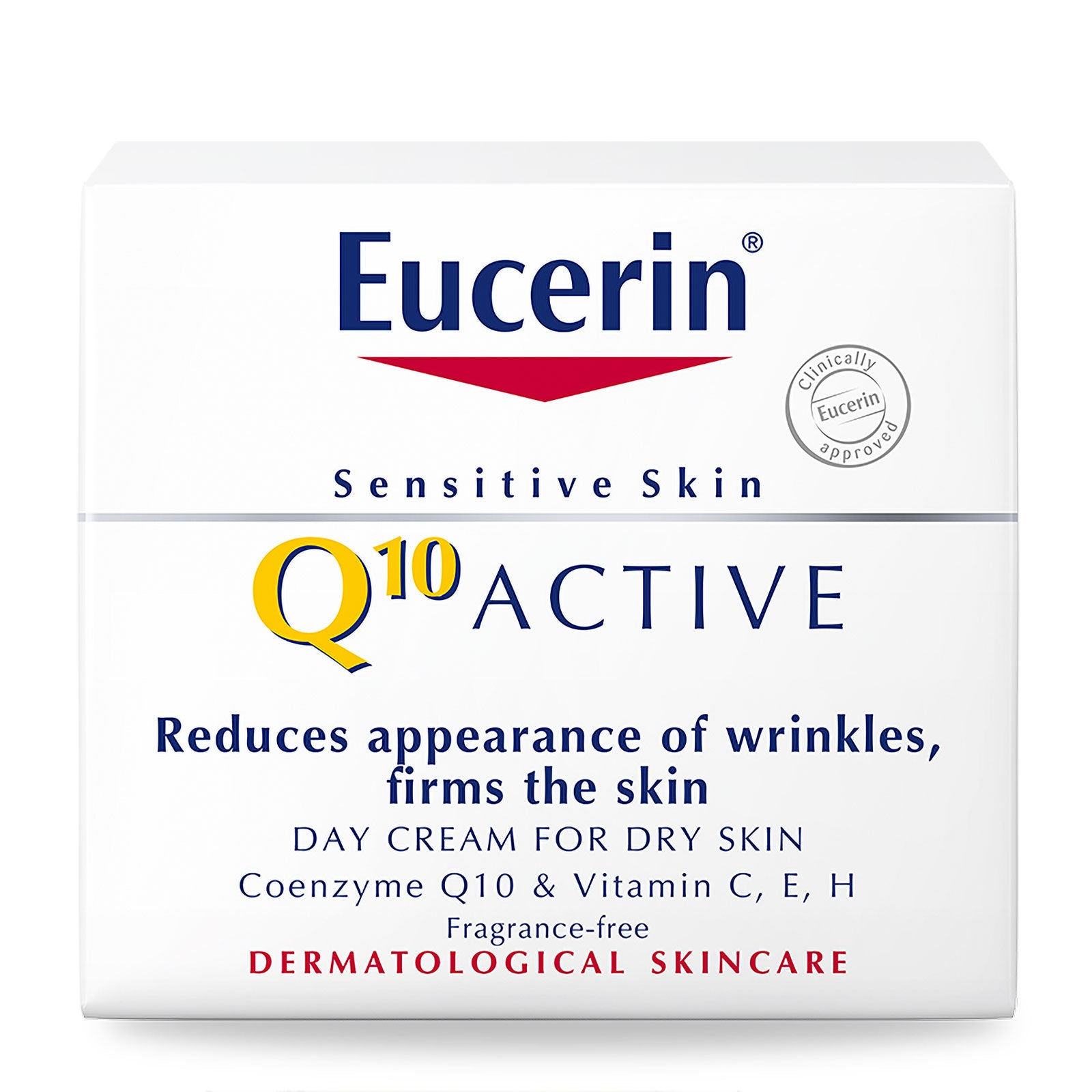 Eucerin Q10 Active Anti-Wrinkle Day Cream for Sensitive Dry Skin 50ml