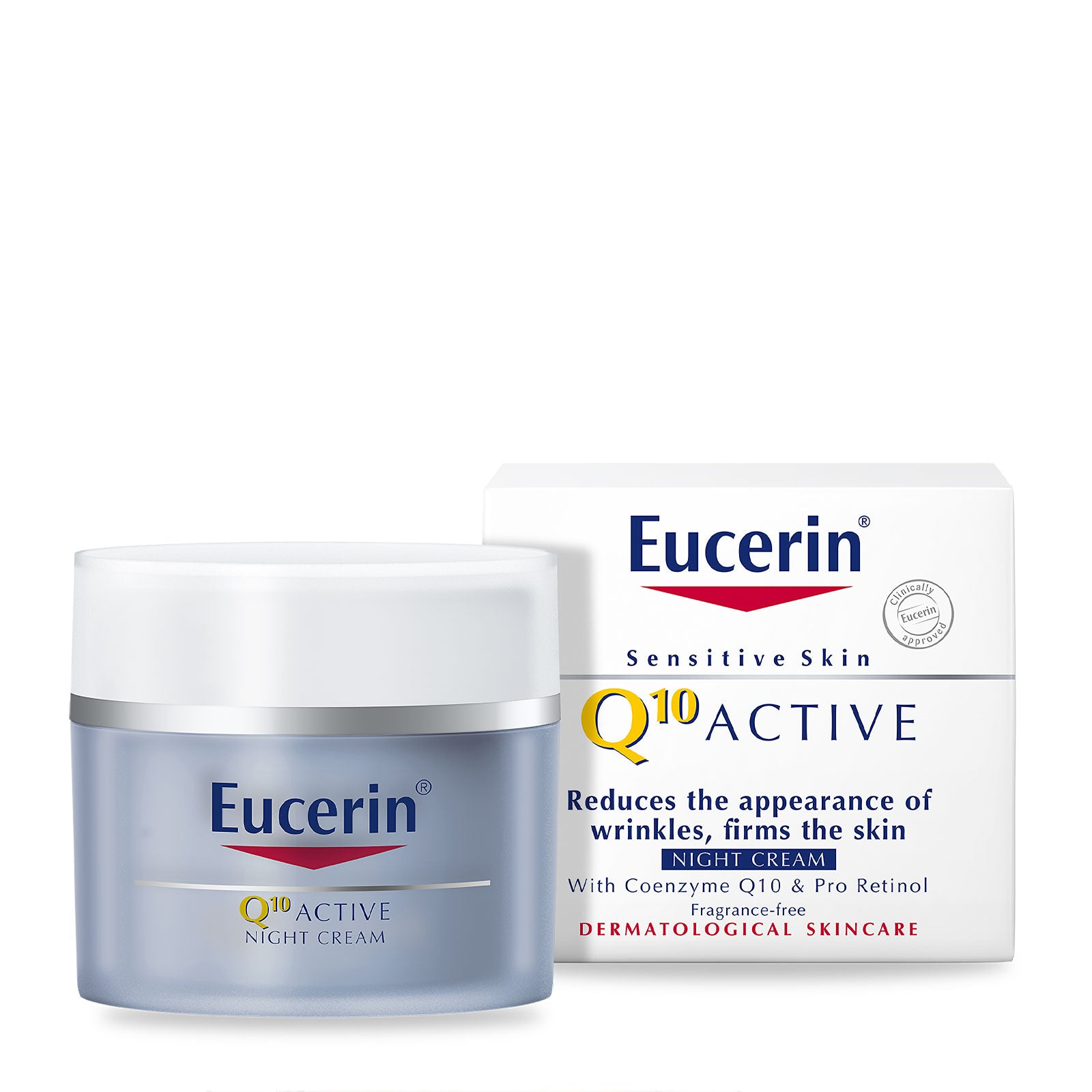Eucerin Q10 Active Anti-Wrinkle Night Cream 50ml