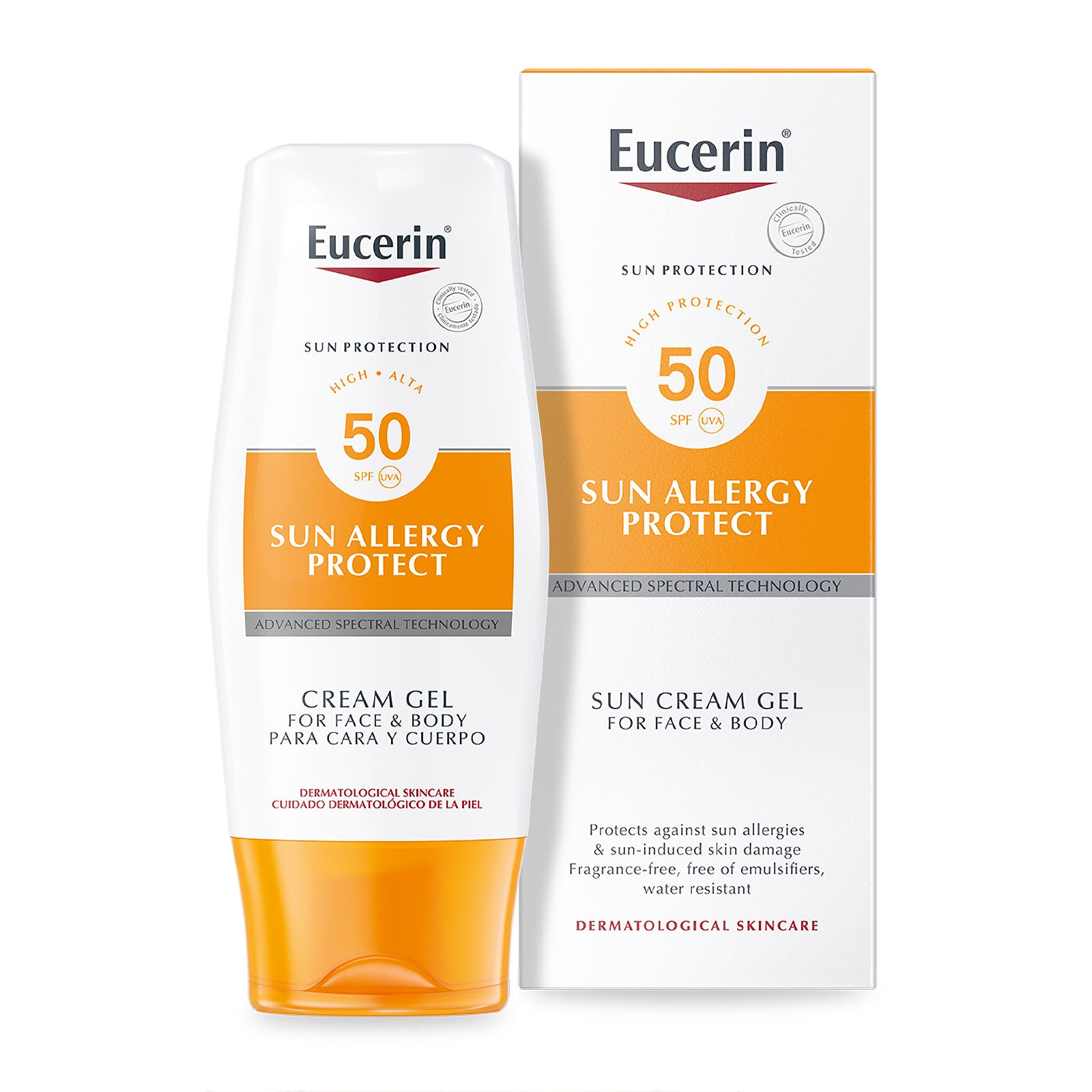 Eucerin Sun Allergy Protection Sun Creme-Gel SPF50 150ml
