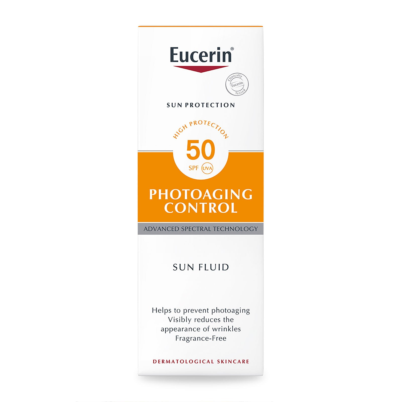 Eucerin Sun Face Anti-Age Fluid SPF50 50ml