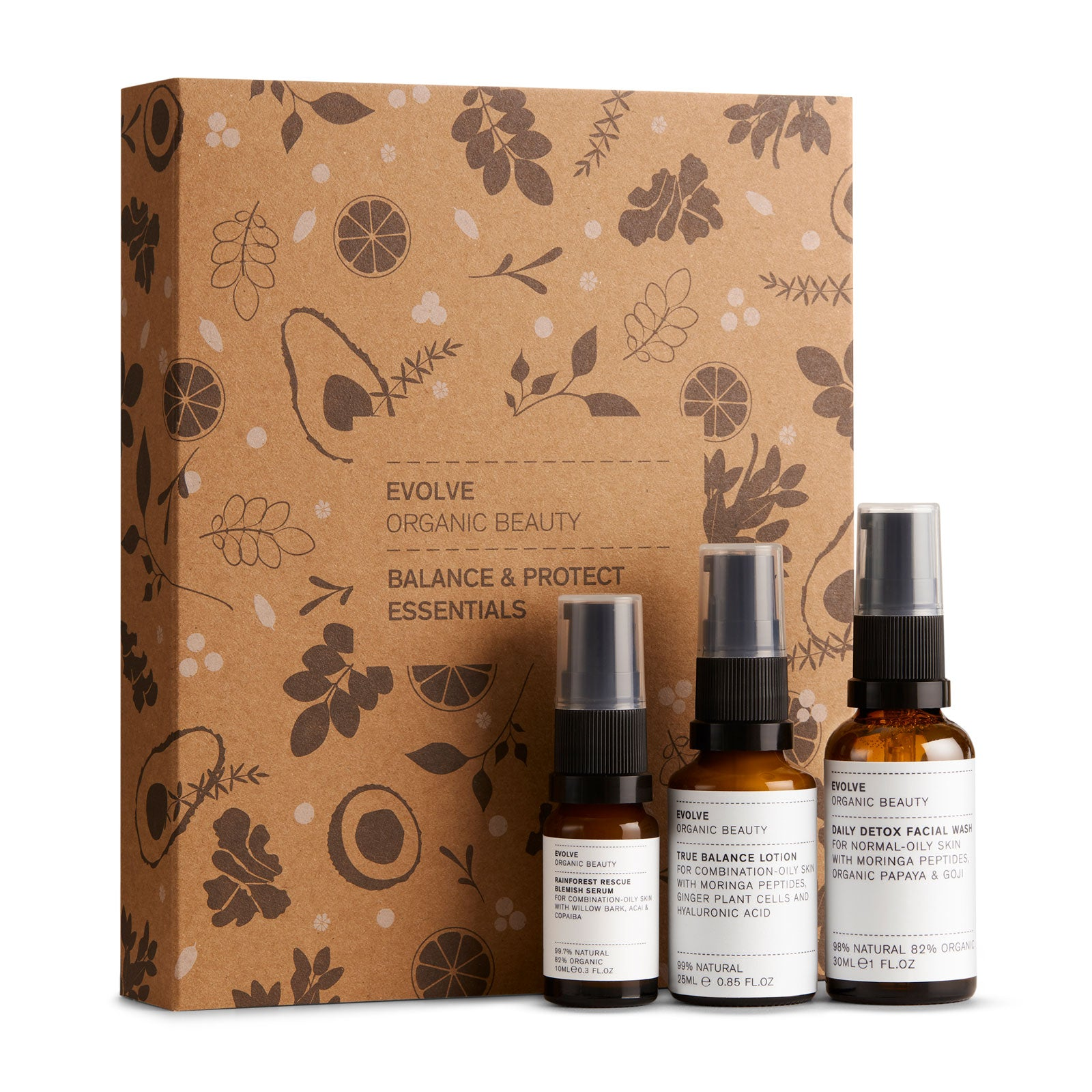 Evolve Beauty Balance and Protect Kit