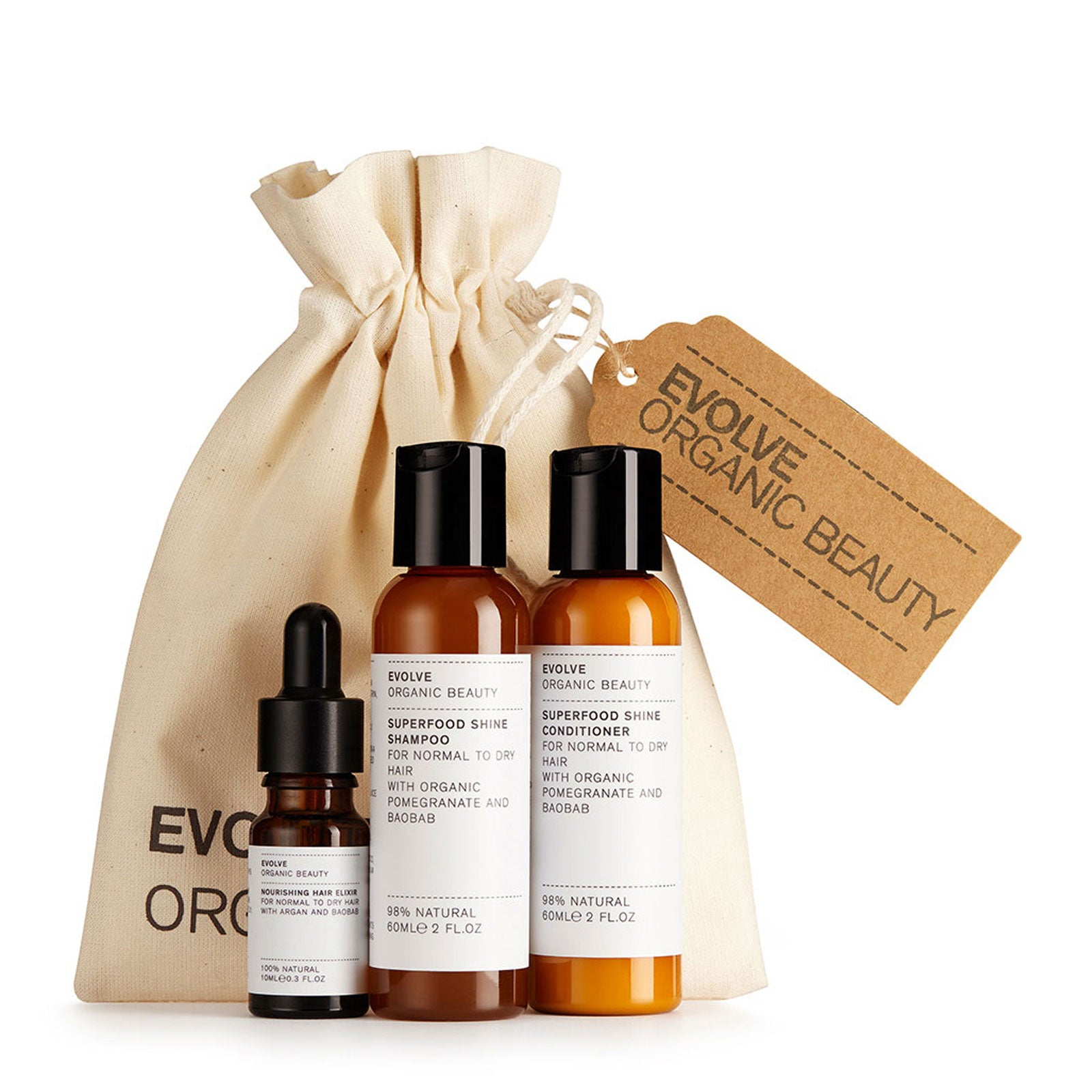 Evolve Beauty Haircare Essentials Kit