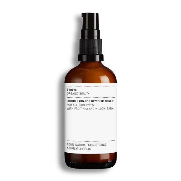 Evolve Beauty Liquid Radiance Glycolic Toner 100ml