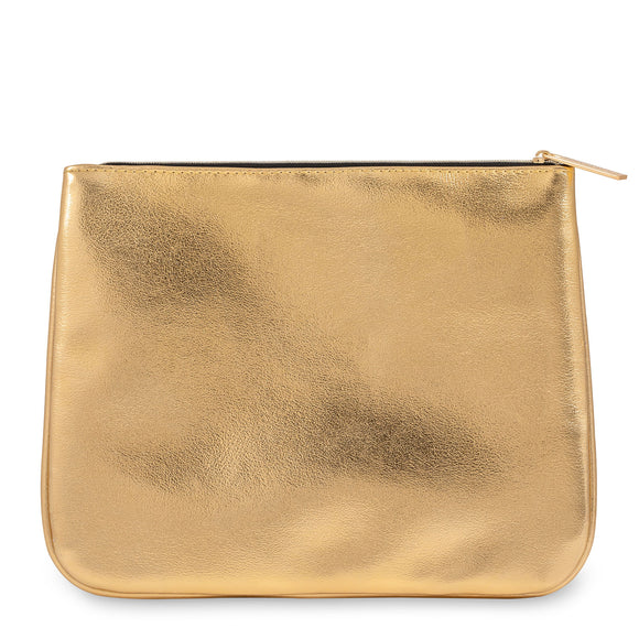 Feelunique Gold Makeup Bag