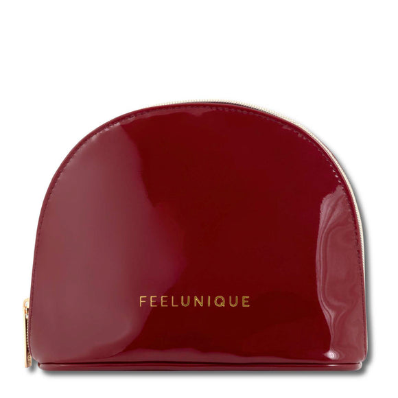 Feelunique Luxe Patent Make Up Bag