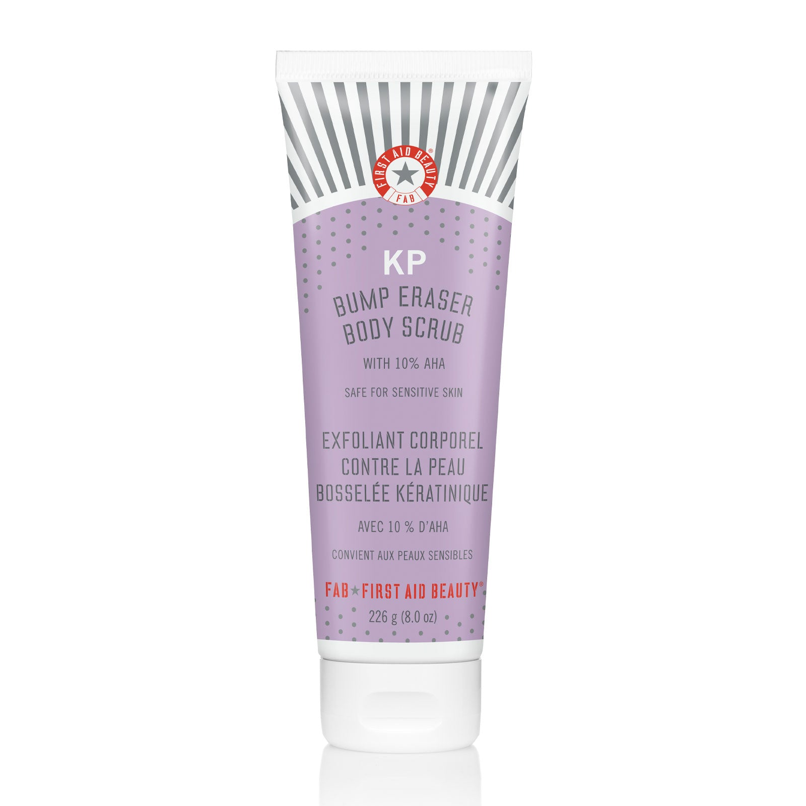 First Aid Beauty KP Bump Eraser Body Scrub with 10% AHA 226g