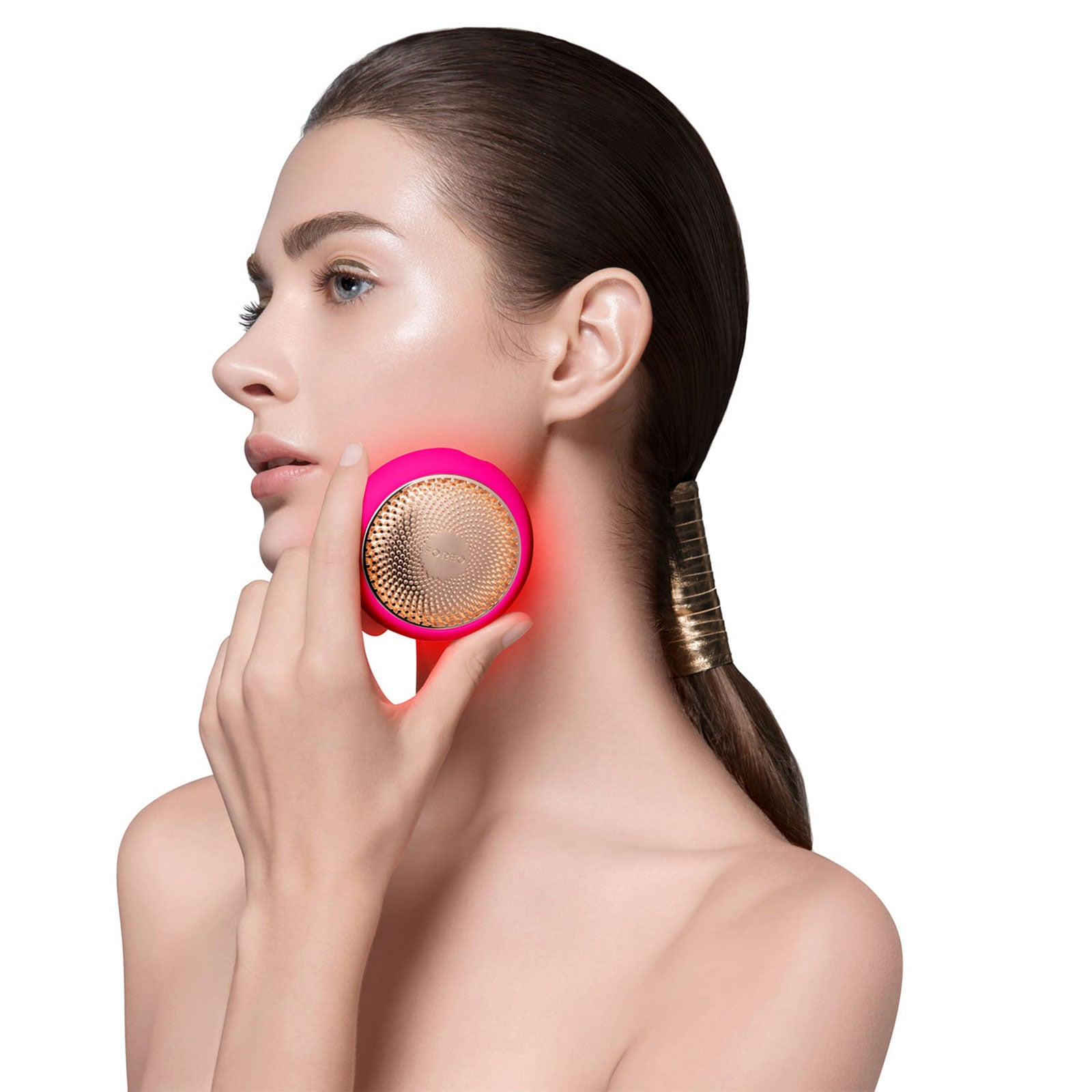 FOREO UFO 2 Device For Accelerating Face Mask Effects - Fuchsia