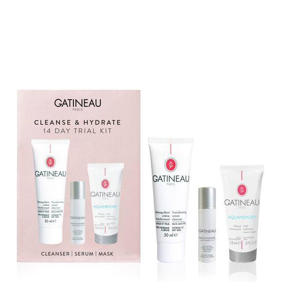 Gatineau Cleanse & Hydrate 14 Day Trial Kit
