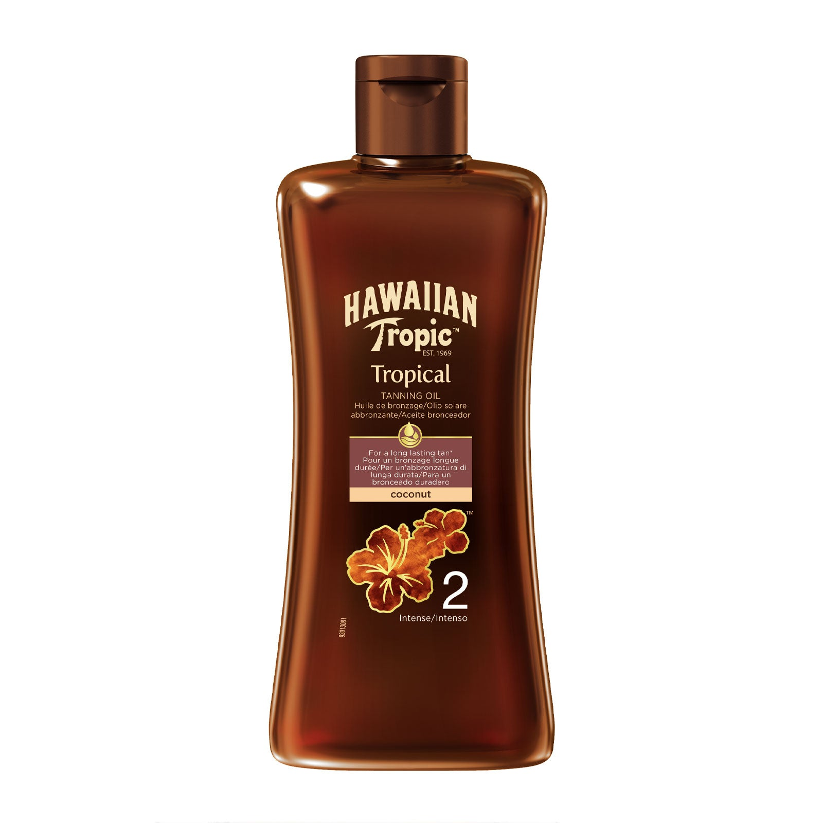 Hawaiian Tropic Professional Tanning Oil SPF2 Intense 200ml