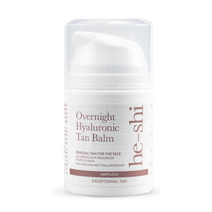 He-Shi Overnight Hyaluronic Facial Tan Balm 50ml