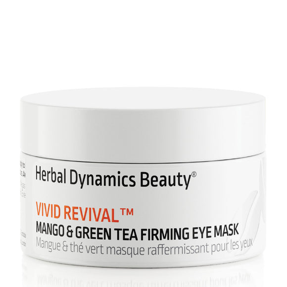 Herbal Dynamics Beauty Vivid Revival™ Mango & Green Tea Firming Eye Mask 15ml