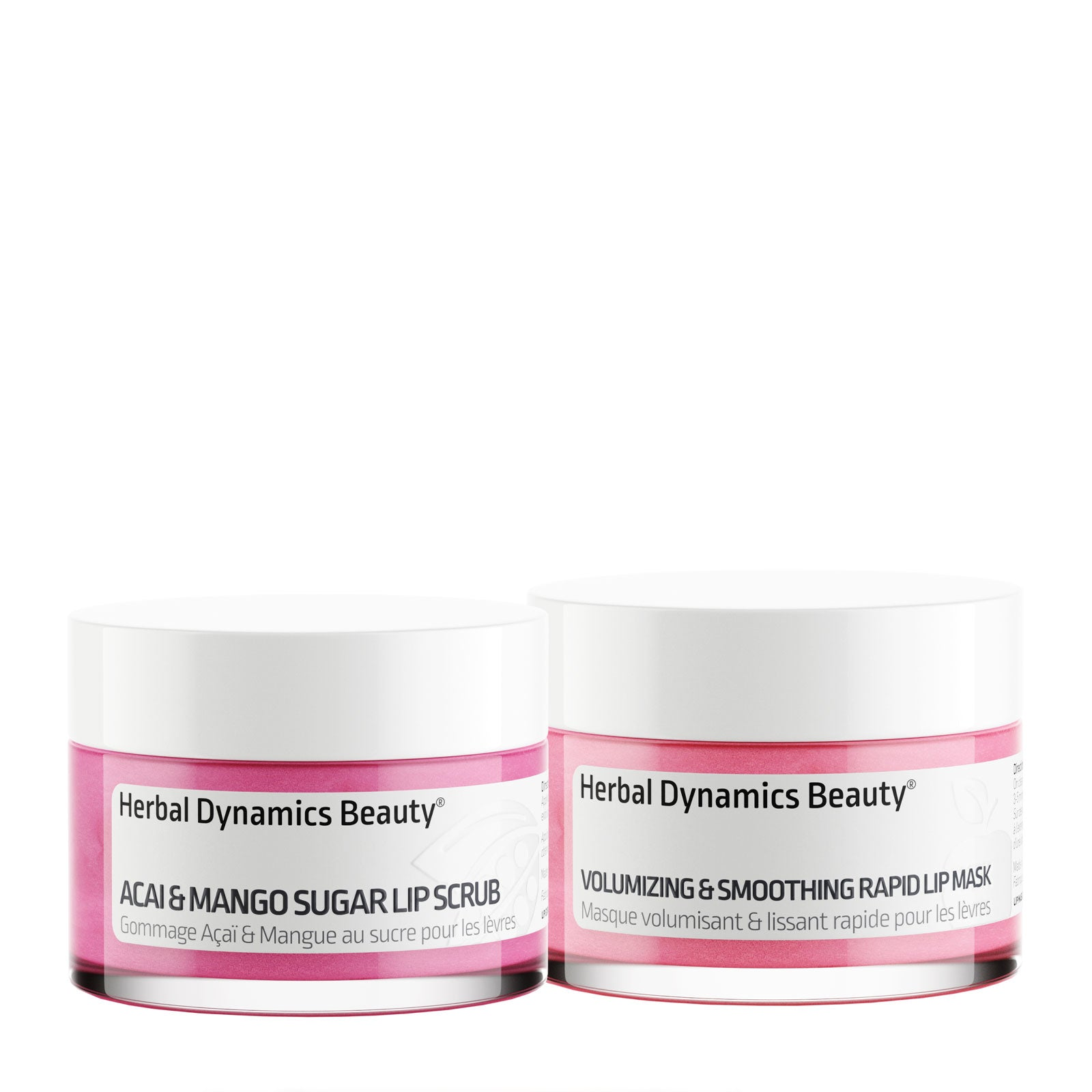 Herbal Dynamics Beauty Volumizing Lip Scrub & Mask Duo 30ml