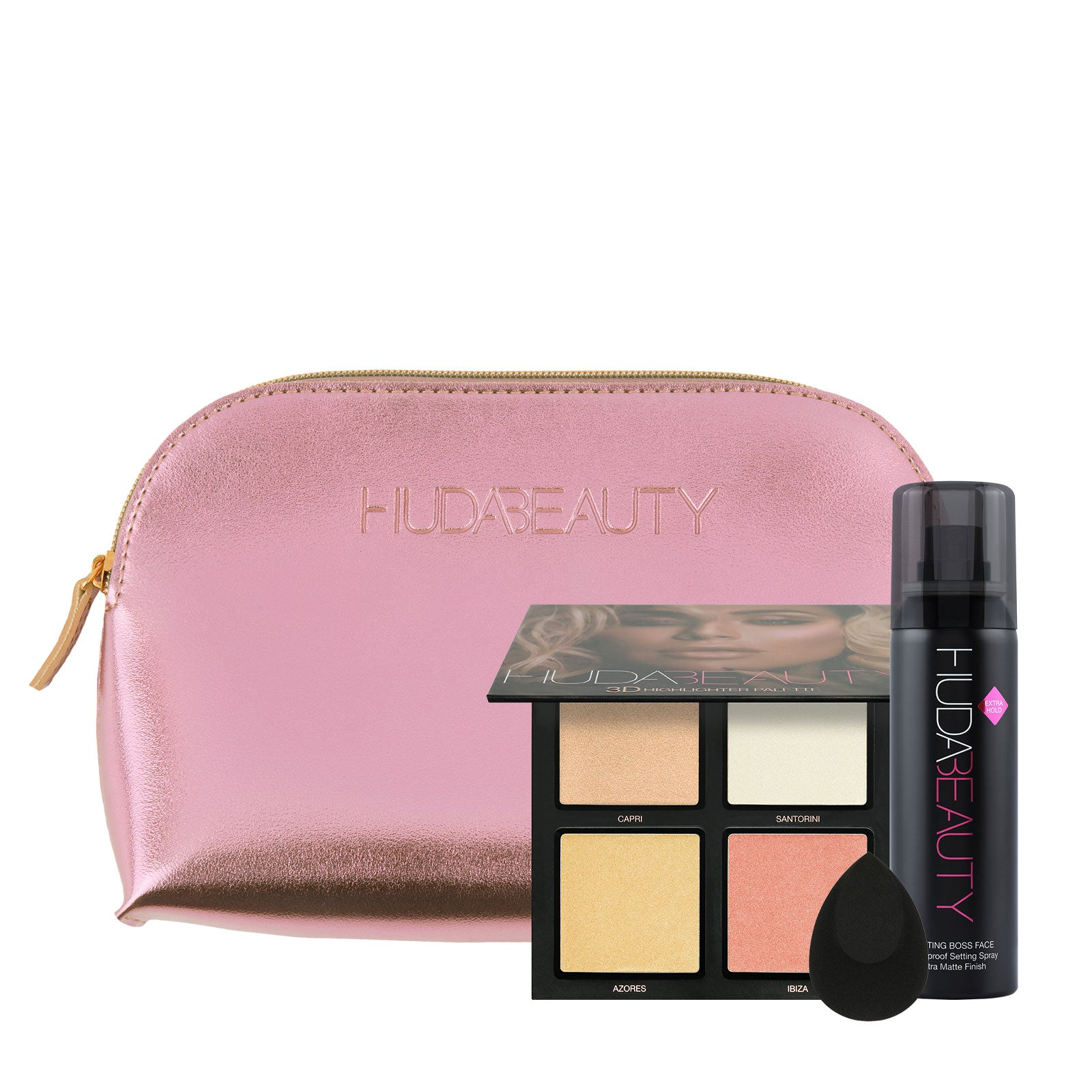 Huda Beauty Exclusive Glow Getter Kit