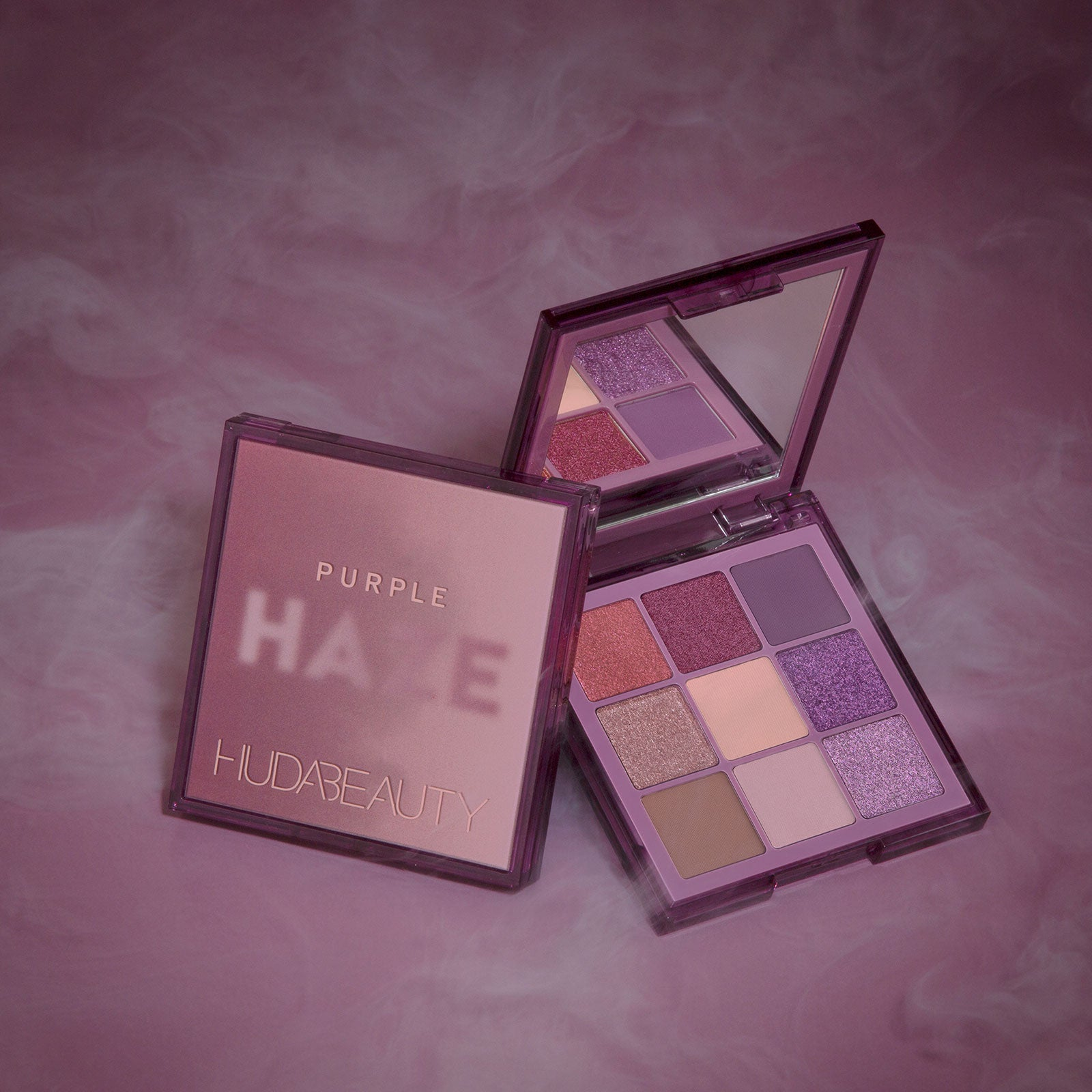 Huda Beauty Haze Obsessions Eyeshadow Palette Purple 10g