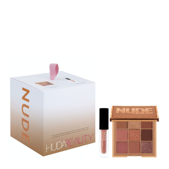Huda Beauty Nude Medium Gift Set