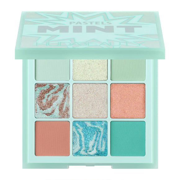 Huda Beauty Obsession Pastel Eyeshadow Palette Mint 10g