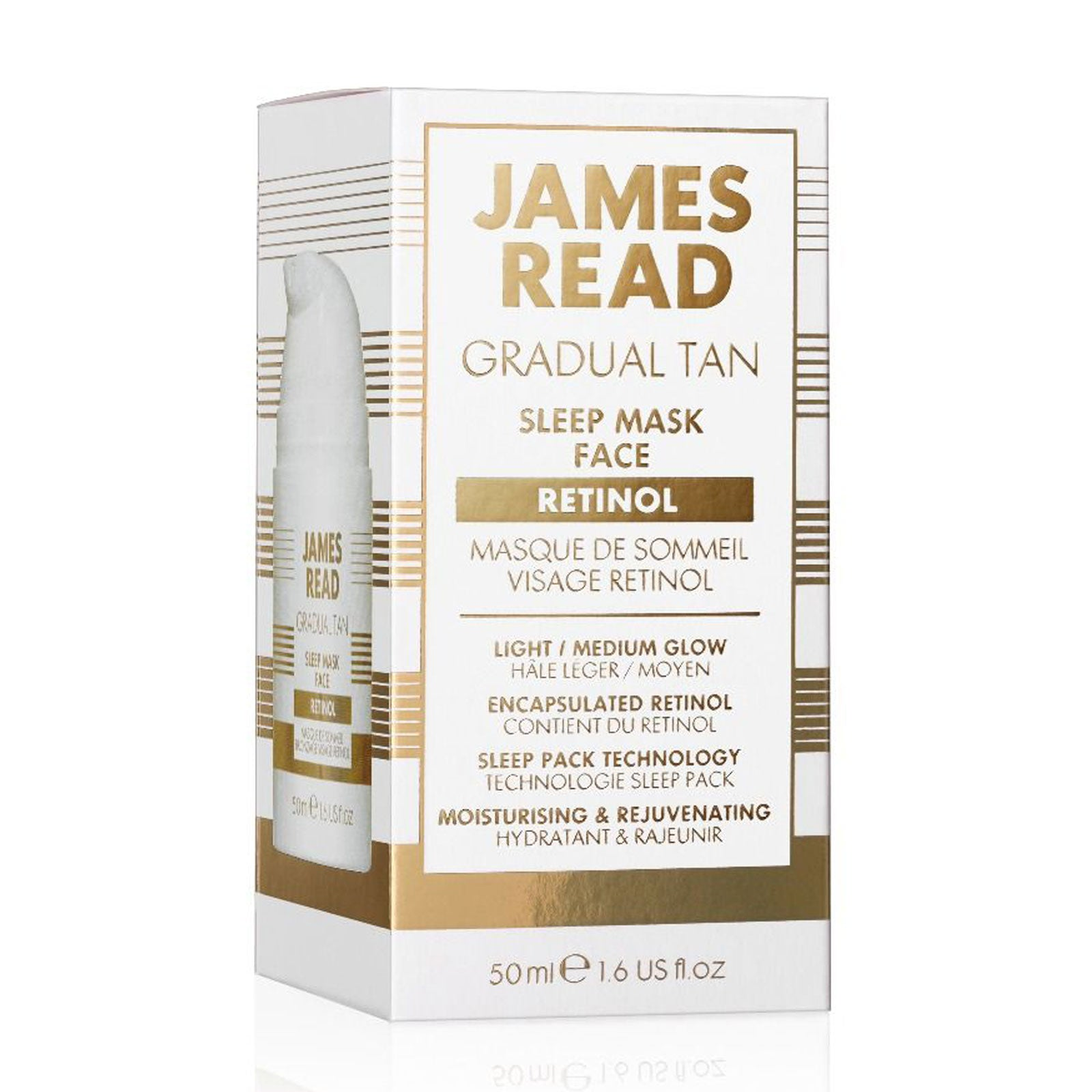 James Read Sleep Mask Face 50ml