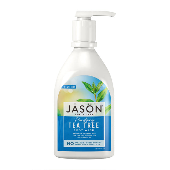 JASON Purifying Tea Tree Pure Natural Body Wash 887ml