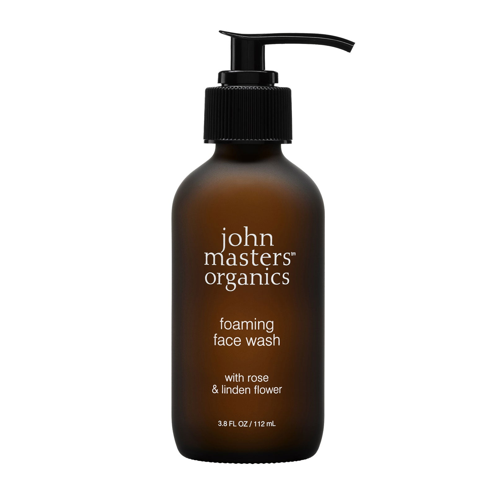 John Masters Organics Foaming Face Wash with Rose & Linden Flower 112ml