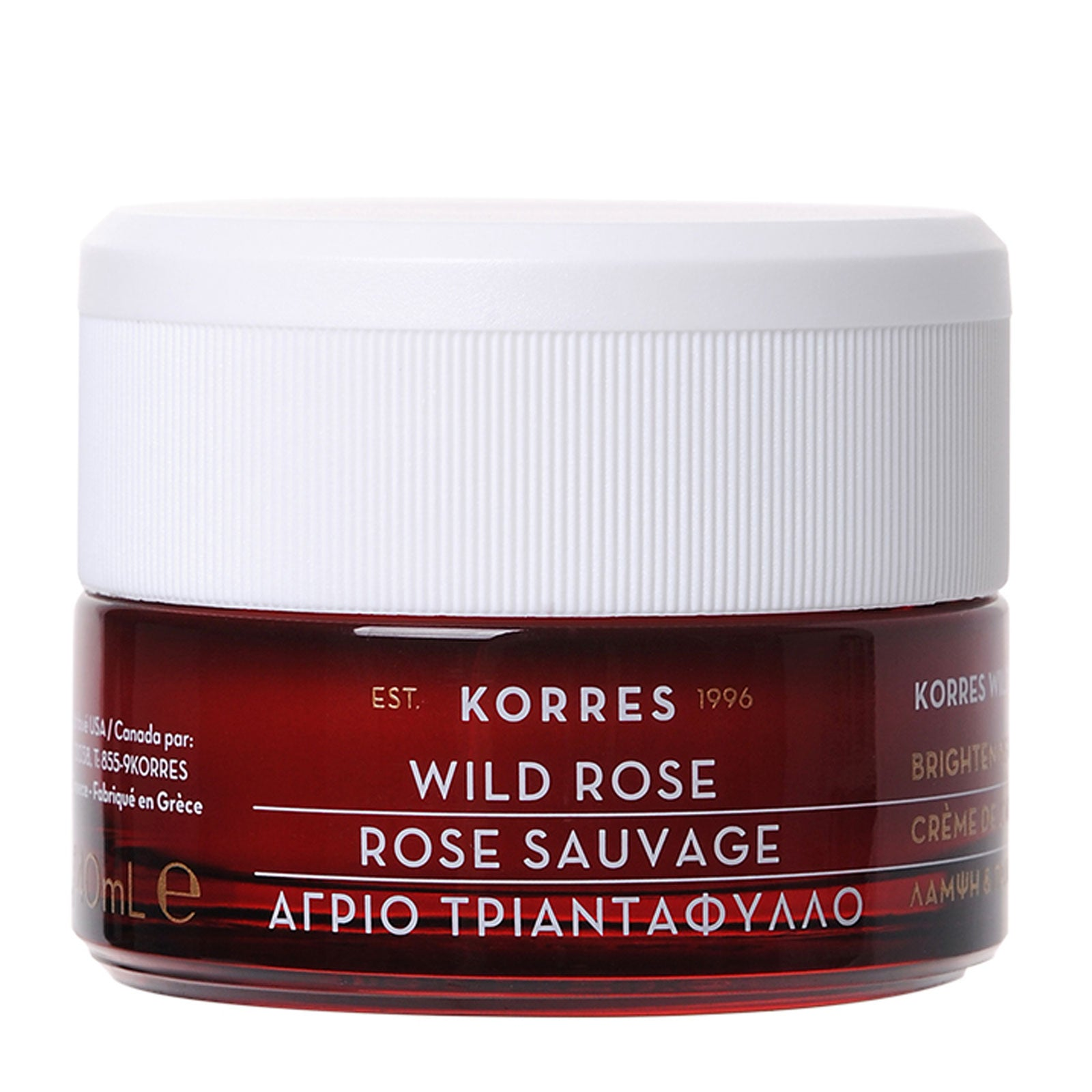 Korres Natural Wild Rose Vitamin C Day Cream For Combination Skin 40ml
