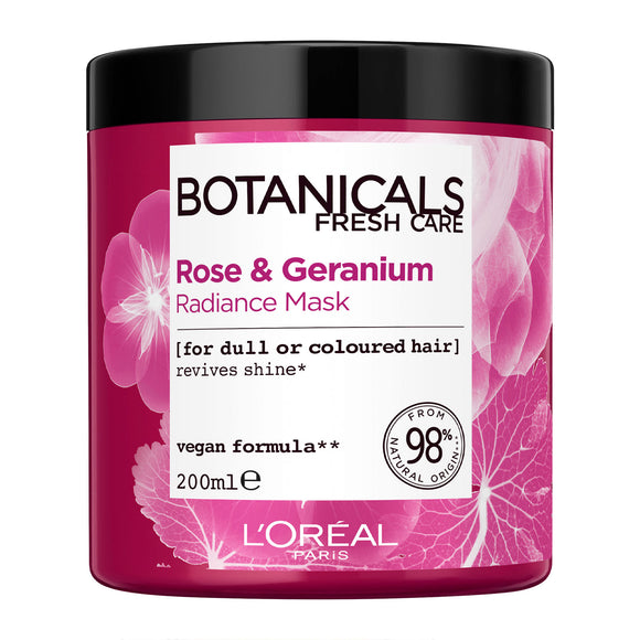 L'Oréal Paris Botanicals Rose & Geranium Coloured Hair Enhancing Vegan Hair Mask