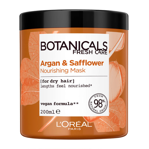 L'Oréal Paris Botanicals Argan & Safflower Dry Hair Vegan Hair Mask