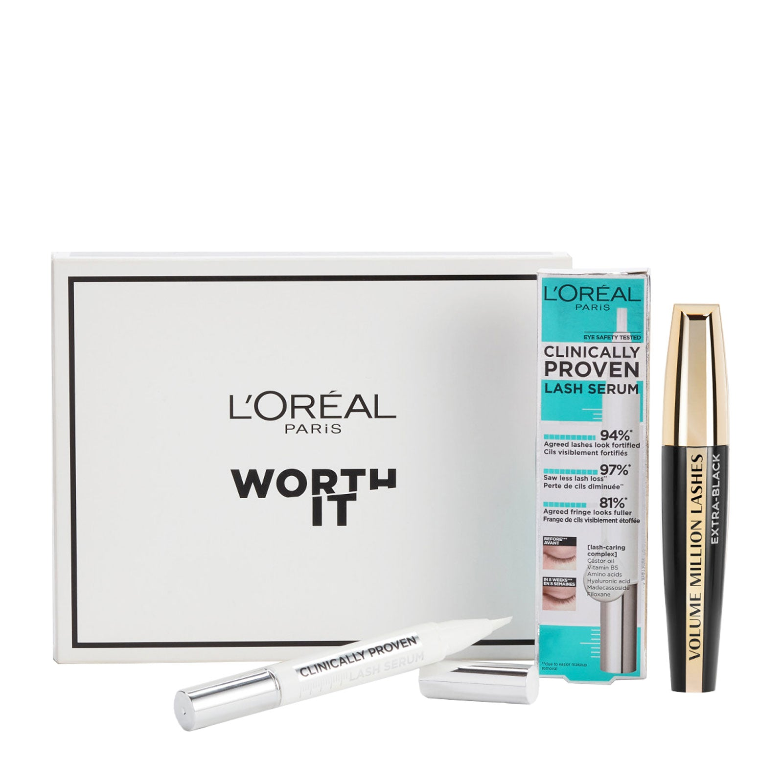 L'Oréal Paris Lash Care Eye Makeup Kit