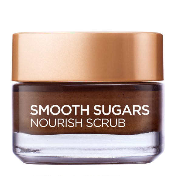 L'Oréal Paris Smooth Sugar Nourish Cocoa Face And Lip Scrub 50ml